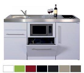 12- 150 cm met koelkast, vaatwasser en magnetron