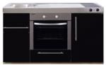 MPB 150 Zwart metalic met koelkast en oven RAI-939