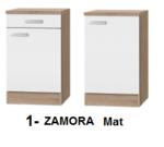 Keukenblok 200 cm Antraciet mat incl gas-kookplaat, afzuigkap, vaatwasser en magnetron RAI-120