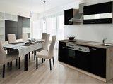 Keuken Zwart 220cm HUS-1098_