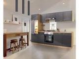 Keuken Mat Grijs 270cm HUS-1798_