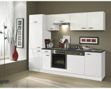 Keuken Lagos hoogglans wit 270cm OPTI-126_