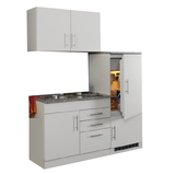 Kitchenette Toronto Wit 160cm HRG-3599_