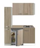 Kitchenette 130cm met koelkast POTTO-6444_