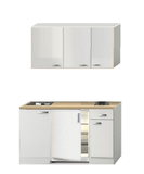 Kitchenette 140 CM incl inbouw app en bovenkasten 2100-10_
