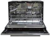 MPGS 110 Zwart mat met vaatwasser en koelkast RAI-9524_