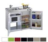 MKM 100 Groen met koelkast en losse magnetron RAI-9571_