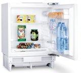 Keukenblok Imola Rood hoogglans met inbouw koelkast en kookplaat 120cm RAI-4422_