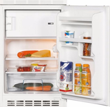 Keuken 240cm wit hoogglans incl koelkast, kookplaat en apothekerskast RAI-372 2_