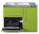 MPGS 120 Groen met vaatwasser en koelkast RAI-9594_