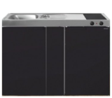 MK 120B Zwart mat met koelkast  RAI-9535_