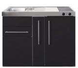 MP 120A zwart mat met apothekers la en koelkast RAI-9517_