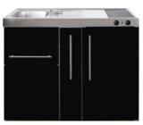 MP 120A zwart metalic met apothekers la en koelkast RAI-9516_