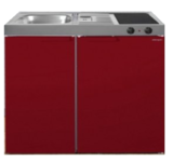 MK 90 Bordeauxrood met koelkast  RAI-9512_