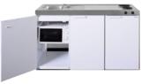 MKM 150 Wit met  losse magnetron en koelkast RAI-333_