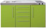 MPS4 150 Groen met koelkast en 4 ladekasten RAI-9535_