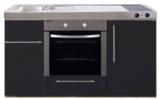 MPB 150 Zwart mat met koelkast en oven RAI-938_