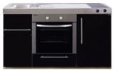 MPB 150 Zwart metalic met koelkast en oven RAI-939_