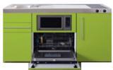 MPGSM 150 Groen met vaatwasser, koelkast en magnetron RAI-927_