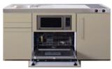 MPGSM 150 Zand kleurig met vaatwasser, koelkast en magnetron RAI-922_