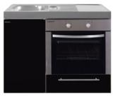 MKB 100 Zwart metalic met  oven RAI-9542_