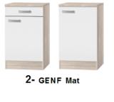 Keukenblok 150 cm Antraciet mat incl gas-kookplaat, afzuigkap, vaatwasser en magnetron RAI-11028_
