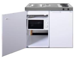 MKM 100 Wit met koelkast en losse magnetron RAI-9572