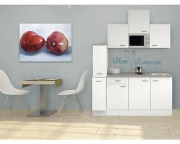 Kitchenette Wit 180cm HRG-5569