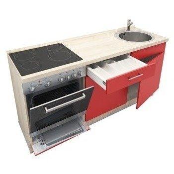 Keukenblok Rood 180cm RAI-799