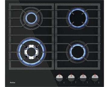 4-pit gaskookplaat Hardglas Amica inbouw RAI-4430