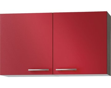 Wandkast Imola signaal rood satijn (BxHxD) 100,0x57,6x34,6 cm OPTI-52