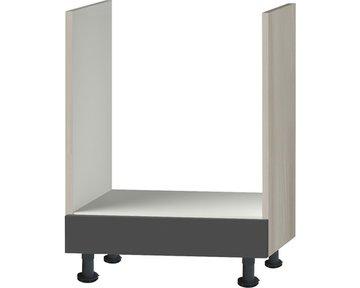 Oven wooneenheid Antraciet Hoogglans 60,0x87,0x58,4 RAI-003217