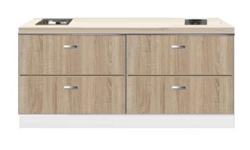 Kitchenette 200cm Houtnerf Padua RAI-440039