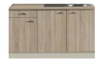 Keukenblok 150 cm kitchenetteonline for Klein keukenblok