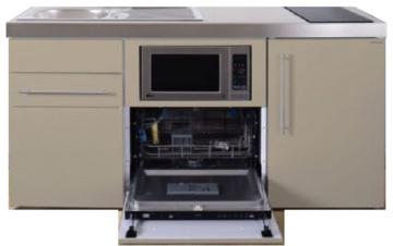 MPGSM 160 Zand met koelkast, vaatwasser en magnetron  RAI-984