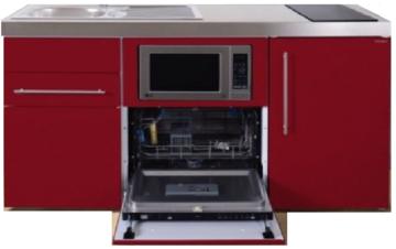 MPGSM 160 Rood met koelkast, vaatwasser en magnetron  RAI-986