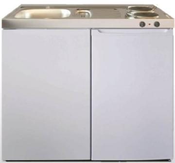 ME 100 wit met koelkast en elek kookplaat RAI-9533