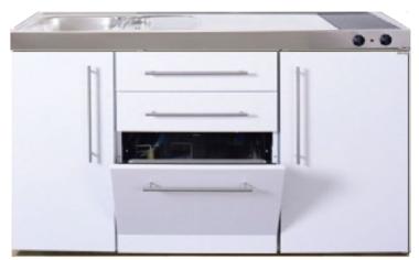MPGS 150 Wit met vaatwasser en koelkast RAI-9542