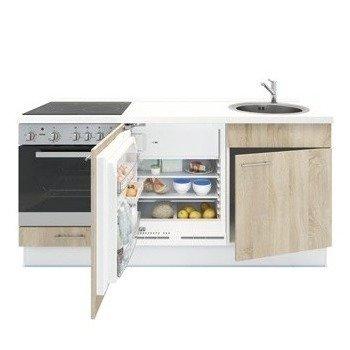 Keukenblok Eiken 180cm RAI-1049