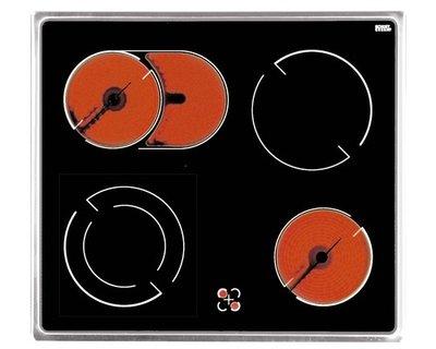 4-pit keramische kookplaat HRG-289