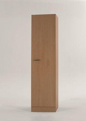 Hoge kast Klassiek 50 Beuken met planken 50cm x 206,8 H500-6-OPTI-57