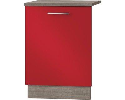 Kabinet Deur voor vaatwasser Imola signaal rood satijn (BxHxD) 59,6x70,0x1,6 cm HRG-775