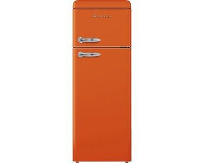 Koelkast en vriezer EEK A ++ Schaub Lorenz SL210O oranje glossy HRG-448