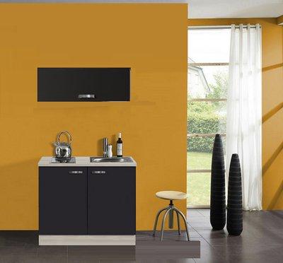 keukenblok Faro Antraciet 100cm OPTI-0103