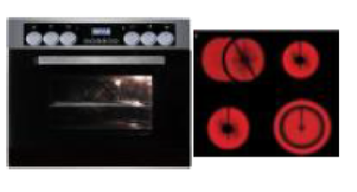 Oven kookplaat combinatie KIT-279