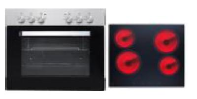 Oven kookplaat combinatie KIT-222