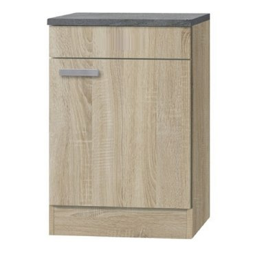 Kabinet Napels acacia-Decor (BxHxD) 50,0x84,8x60,0 cm HRG-990