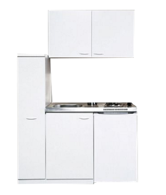 Kitchenette Wit 130cm  KIT-383
