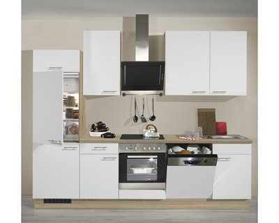 Keuken gebroken wit 280 cm inclusief ingebouwde app RIA-3120