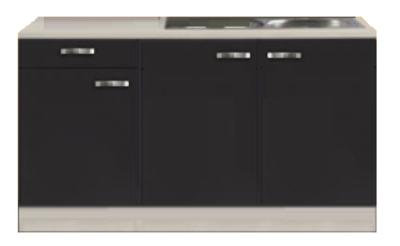Kitchenette Faro Antraciet 150cm HRG-7330
